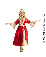 Charming Princess Invites You to the Halloween - Beautiful...
