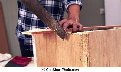 charpentier, atelier, fonctionnement, bois, métier