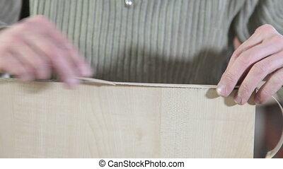 charpentier, fabrique, meubles