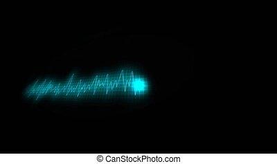 chart., barwiony, sygnał, electricity., elektryczny