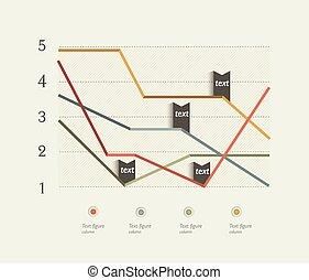 chart., plano, diseño, empresa / negocio