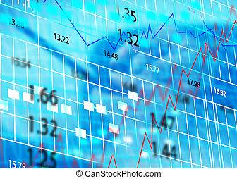 chart., stock market