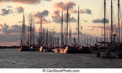 Chartership in the sunset. - Charter Boats Of Brown Fleet...