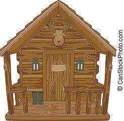 chasse, cabine