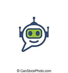 Chat bot icon