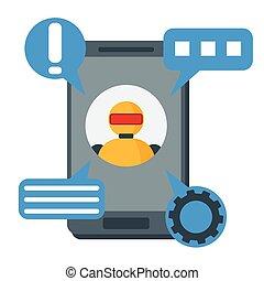 Chat bot, robot