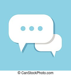 Chat Bubble Icon Social Media Communication