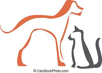 chat, chien, grands traits