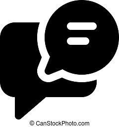 chat comment