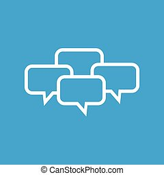 Chat conference icon