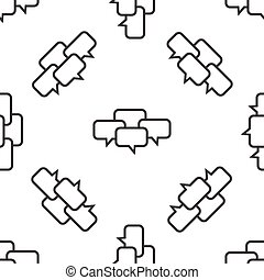 Chat conference pattern