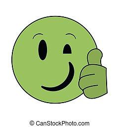 Chat emoji emoticon
