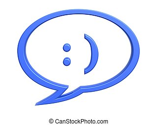 chat expression symbol