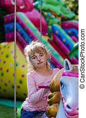 chat, facepainting