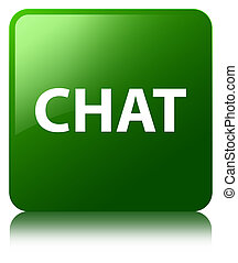 Chat green square button