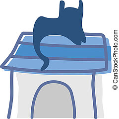 chat, icône
