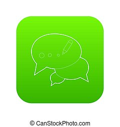 Chat icon green