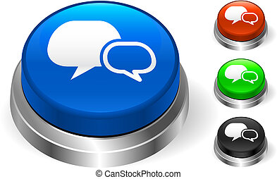 Chat Icon on Internet Button