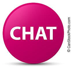 Chat pink round button