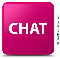 Chat pink square button