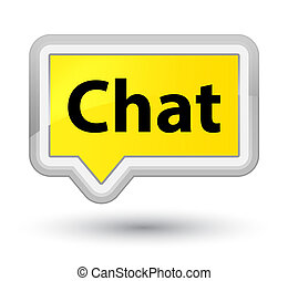 Chat prime yellow banner button