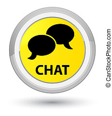 Chat prime yellow round button