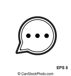 Chat Simple Icon