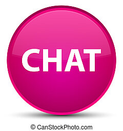 Chat special pink round button