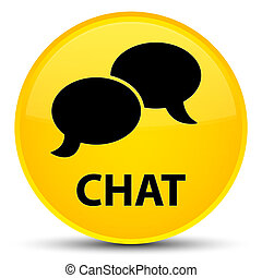 Chat special yellow round button