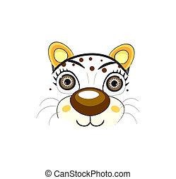 chat, vecteur, -, illustration, figure