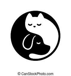 chat, yin, chien, yang