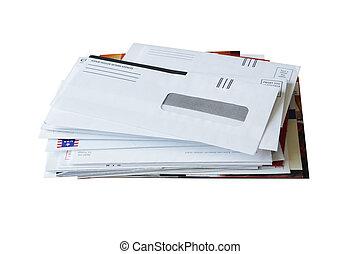 chatarra, correos