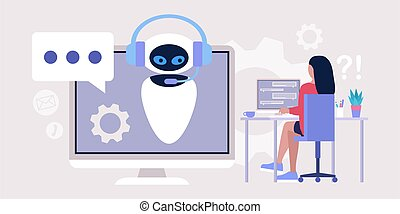 Chatbot support concept