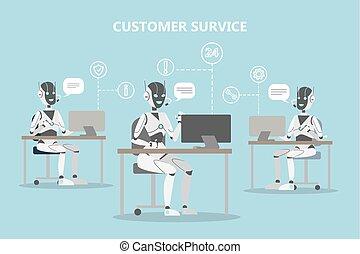 chatbots, service., cliente