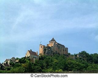 Chateau above Dordogne