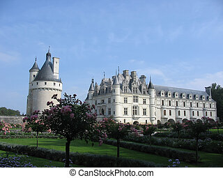 Chateau and gardens of Chenonceau