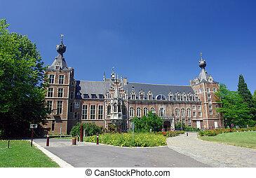 chateau, arenbergh, belgien