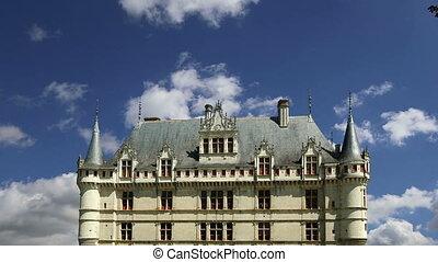 Chateau Azay-le-Rideau, France