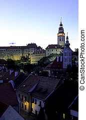 Chateau bell-tower- Czech Republic - Castle tower of the ...