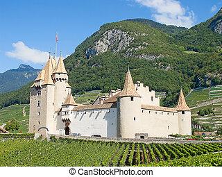 chateau, d'aigle