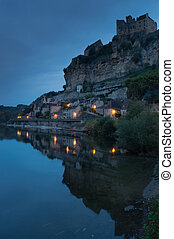 Chateau de Beynac at Dawn, Dordogne, France
