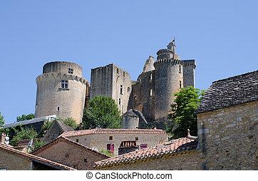 Chateau de Bonaguil in South West France