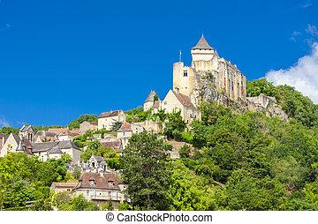 Chateau de Castelnaud, Dordogne, Aquitaine, France