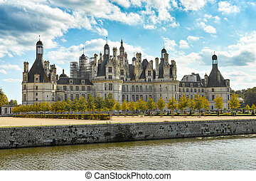 Chateau de Chambord, panoramic view