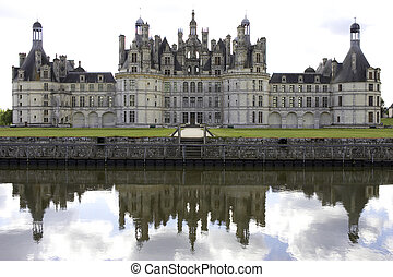 Chateau de chambord, loire valley, france