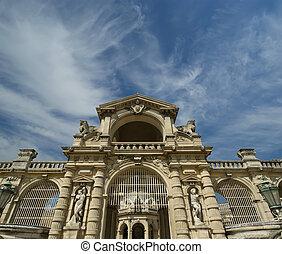 Chateau de Chantilly ( Chantilly Castle ), Oise, Picardie,...