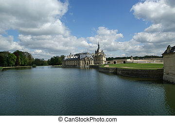 Chateau de Chantilly ( Chantilly Castle ), Oise, Picardie, France