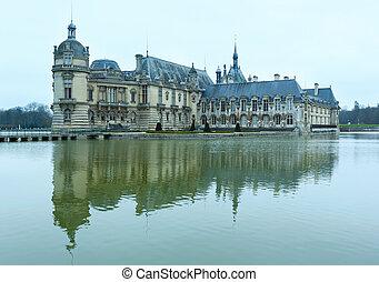 Chateau de Chantilly (France).
