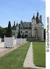 Chateau de Chenonceau. Loire.