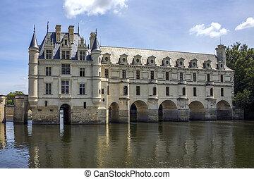 Chateau de Chenonceau- Loire Valley - France.